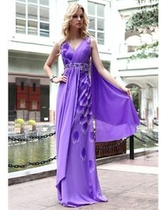 Love such color dress, beautiful.