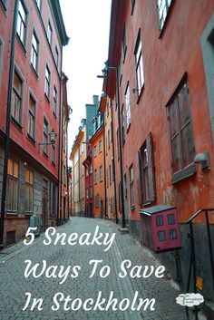 Sweden is an expensive country but that doesn't mean you can't #travel to Stockholm on a budget. Here's 5 ways we made our money go further.