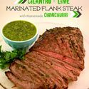 Cilantro Lime marinated Flank Steak