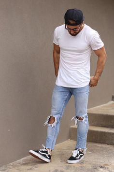 pantalones rotos hombres
