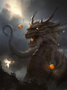 ArtStation - Chinese Dragon - demo, lok du - Tattoo Thinks Chinese Dragon Art, Japanese Dragon, Dragon Samurai, Figurine Dragon, Rukia Bleach, Fantasy Beasts, Dragon Artwork, Dragon Pictures, Fantasy Dragon