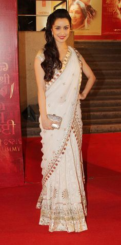 Shraddha Kapoor in Saree