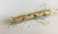 DIY Fancy Hay Feeder Tube