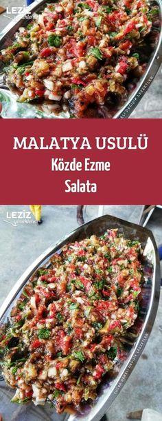 Malatya Usulü Közde Ezme Salata