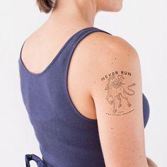 The Last Unicorn | 21 Literary Temporary Tattoos Every Book Lover Needs