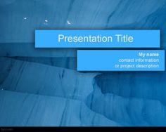 Free blue Awareness PowerPoint Template