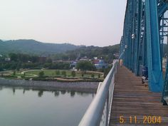 Walnut Street Bridge, a pedestrian bridge across the Tennessee River in Chattanooga