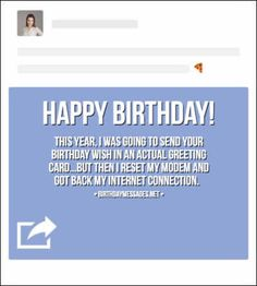 Funny Birthday Wishes & Funny Birthday Quotes: Funny Birthday Messages Funny Birthday Card Messages, Birthday Poems, Birthday Wishes For Friend, Birthday Wishes Quotes, Happy Birthday Cards, Text Message Meme, Funny Text Messages, Sister Quotes Funny, Funny Sister