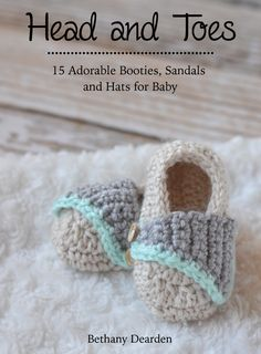 Head to Toes - 15 Adorable Patterns for Baby - Whistle and Ivy