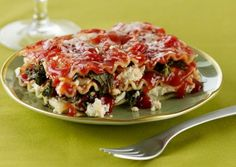 Kale Lasagna Diavolo - one of the best recipes ever!  #AndersonEatsKale