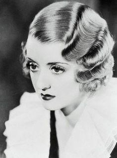 scrapbook.: The finger wave. 1920s-30s hair doo.