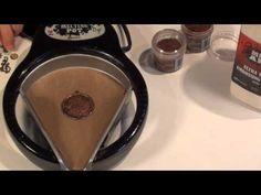 Vintaj Educator Mackie Mullane shows how to create a Melt Art Bezel using Vintaj Natural Brass findings and the Ranger Melting Pot!