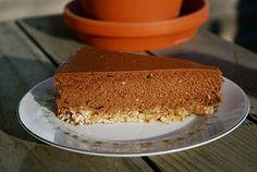 Low Carb Sugar Free Chocolate Cheesecake