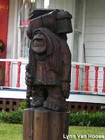 Troll Sculpture 777 W Central Ave Wichita Ks South