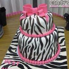 zebra and pink cake/ Jas is wanting Zebra print for her bday Zebra Birthday, Birthday Cakes, Birthday Bash, Birthday Ideas, Birthday Stuff, Girl Birthday, Happy Birthday, Beautiful Cakes, Amazing Cakes