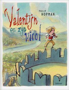 // Philip Hopman - Valentijn en zijn viool // Valentijn speelt viool. Hij heeft niet door dat zijn muziek oorverdovend is. Mensen klagen en dieren slaan op hol. Dan ontdekt Valentijn dat zijn 'talent' ook een voordeel heeft. Vanaf 4 jaar.