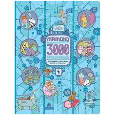 Trzeci tom bestsellerowej serii o miasteczku Mamoko. Tym razem pełna szczegółów obrazkowa opowieść przenosi nas w przyszłość. Jest rok 3000. Miasteczko Mamoko roi