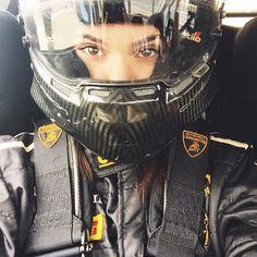 Instagram media kendalljenner - game face #JennerRacing PIRELLI