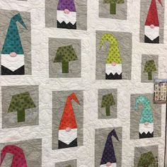 "1,416 Likes, 56 Comments - Moda Fabrics/United Notions (@modafabrics) on Instagram: ""A Tale of Two Gnomes by No. 2 Abbey Lane. One pattern with multiple block options! Make different…"""