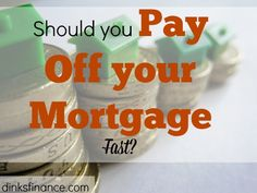 Which should you do?Pay off your mortgage quickly or let it run its course?Here's what you need to know!