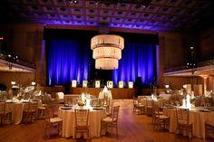 Wedding Reception at War Memorial Auditorium