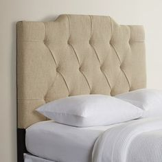 The Martha Upholstered Panel Headboard is the perfect tan colored to any bedroom. This headboard can add a hint of charm and elegance to any bedroom. It is made using premium-grade polyester, which make Wingback Headboard, Queen Headboard, Panel Headboard, Headboard And Footboard, Bed Upholstery, Hillsdale Furniture, Adjustable Beds, Bed Frame, Home