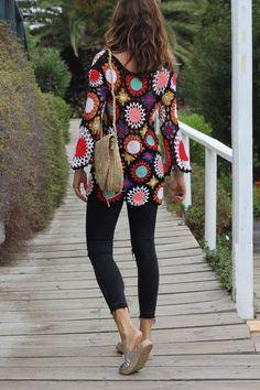Mytenida // Vestido/dress: El Baúl Francés. Jeans: Zara (old). Sandalias/sandals: Sluiz Ibiza. Bolso/handbag: Mytenida´s collection.