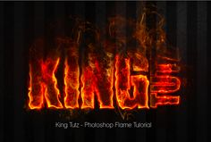 This flame effect photoshop tutorial is awesome! The author takes you step-by-step as you learn how to color dodge, take flame images using channels and much more. This tutorial is sure to take your Photoshop skills to the next level!