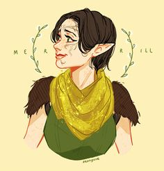 seongune: I literally just finished origins and awakening, so I haven't met merrill yet but!! she seems like a real sweet baby