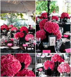 black and pink...beautiful