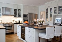 Great Layout . . .I love the prep sink on the other side of the island (good for kids who want to help out with cooking!)