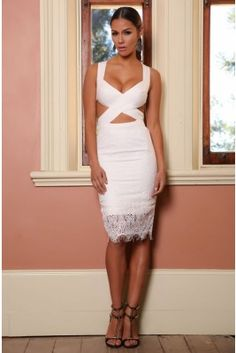 Abyss Beverly Hills Lace Dress