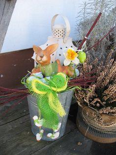 DIY Frühlingsdekoration / DIY spring decoration outdoor