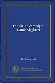 Dante Alighieri Divina Commedia Prima Cantica Inferno