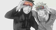 Obito and Naruto I wish it would have happen that way