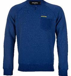 Dsquared Chest Pocket Sweatshirt Blue Dsquared Chest Pocket Sweatshirt Bluewith crew neck and rubberized logo branding above chest pocket ribbed cuffs and hemline. Colour: Blue Fabric: 100% Cotton Care: Handwash http://www.comparestoreprices.co.uk/designer-sweatshirts/dsquared-chest-pocket-sweatshirt-blue.asp
