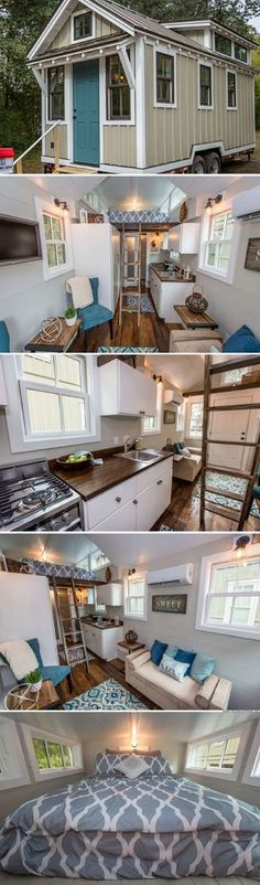 A tiny house by Driftwood Homes