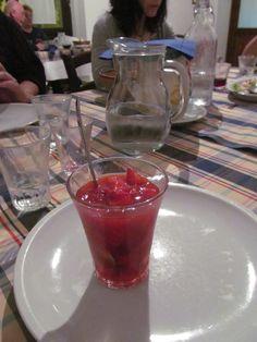 Strawberries in liquore - Castella della Rosa, Caltigirone, Sicily