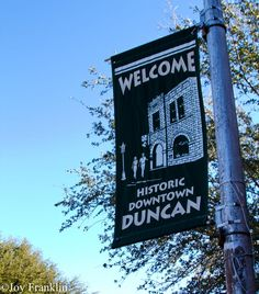 Welcome to Duncan Oklahoma!