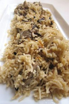 Aromatic Rice Pilaf: Yakhni Pulao in the Pakistani / Afghan Manner