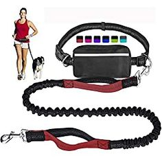 If the walker in your life enjoys taking her dog along for the trip, this hands-free leash is something she'll truly love. The leash comes in several color options and clips directly onto a belt that's also included. It's durable, and because there's some built-in stretch in the leash, it's also safe for both the dog and its owner. The belt includes a zippered pack where she can store her keys, phone, dog treats or other small items. Dog Varieties, Running Belt, Waist Pouch, Guide Dog, Dog Leash, Large Dogs, Cool Gifts, Your Dog, Walking