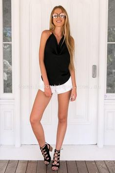 Venus Drape Top ▶ ▷▶ Shop It Now ❤ Xenia Boutique xx