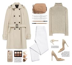 """""""..."""" by yexyka ❤ liked on Polyvore featuring Zara, Gianvito Rossi, Tory Burch, Etro, Gucci, MAC Cosmetics, Casetify, Anastasia Beverly Hills, Urban Decay and women's clothing"""
