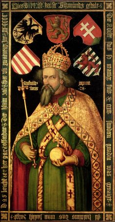 Emperor Sigismund, Holy Roman Emperor, King of Hungary and Bohemia