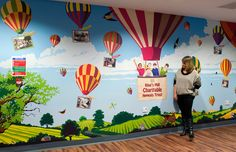 children wall murals kids colorful for childrens london inspire