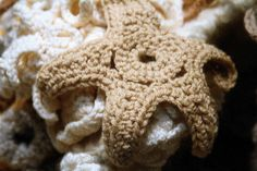 crocheted starfish  ♥ⓛⓞⓥⓔ♥