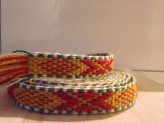 Bånd til Vestfoldbunad Norway, Friendship Bracelets, Scandinavian, Weaving, Band, Jewelry, Sash, Jewlery, Bijoux