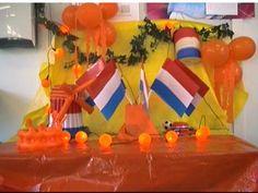 Koninginnedag bij Peuterspeelzaal Pinkelotje