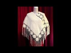 CROCHET T: PONCHO SENCILLO PARTE 3 DE 3 - YouTube