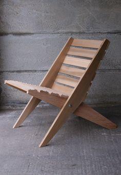 Red Cedar Fold Away Chairs 1